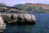 <p>Falaise de La Ciotat, dans les Bouches-du-Rhône (photo d'illustration)</p>