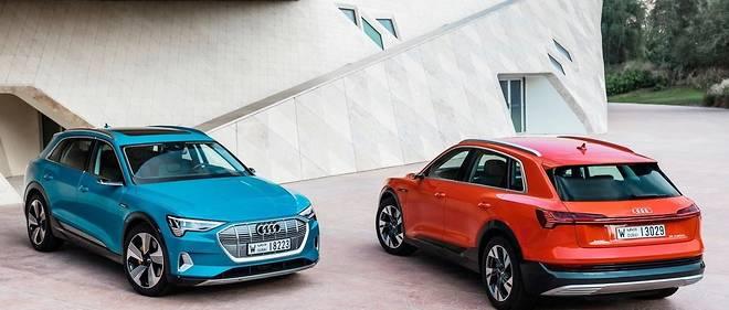 L'e-tron, la réplique d'Audi à Tesla, n'était plus bien considérée par l'administration en raison de son poids élevé.
