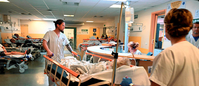 Plusieurs millions d'euros d'investissement et 20postes de soignants supplémentaires sont prévus pour permettre au service d'urgences de l'hôpital Lapeyronie d'affronter la démographie galopante de Montpellier.  ©Jean-MichelTURPIN