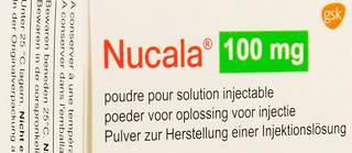 Le mépolizumab, commercialisé sous le nom Nucala.