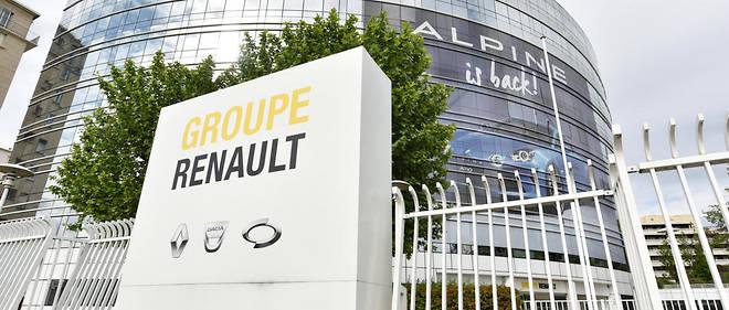 Le siège de Renault à Boulogne-Billancourt où s'est tenu le conseil d'administration qui écarté Thierry Bolloré.