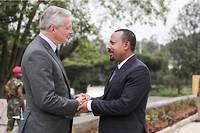 Le premier ministre Abiy Ahmed, que les Éthiopiens surnomment «le prophète» a visiblement fait un nouveau converti.