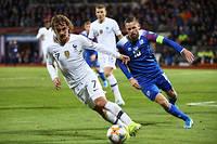 Une victoire contre la Turquie lundi qualifierait l'équipe de France.
