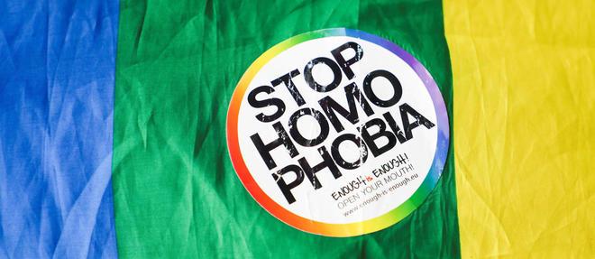 Manifestation contre l'homophobie en Pologne.