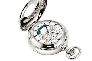 La montre de poche Star Caliber 2000réunit 21complications très rares.