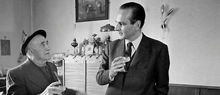 En mai 1973, à Ussel, dans le nord de la Corrèze dont Jacques Chirac a été député de 1967à 1995.  ©DE DECKER MARIE-LAURE/GAMMA