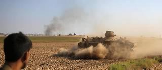 Pendant les combats entre l'armée turque et les Kurdes, des proches de membres de l'EI se sont échappés d'un camp.