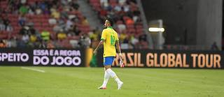 Neymar est sorti du terrain après 12 minutes de jeu. (Illustration)