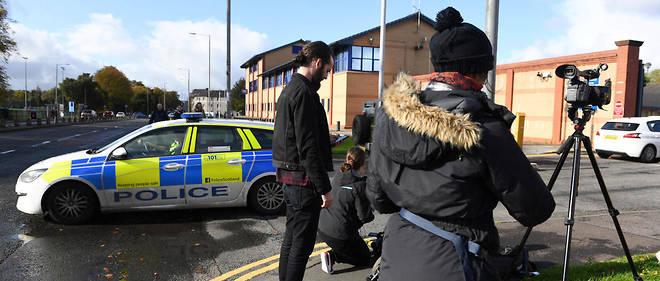 C'est depuis la station de police de Govan, à Glasgow, que les policiers de Scotland Yard ont émis leur communiqué samedi.