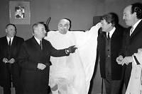 Louis de Funes et Jean Marais dans