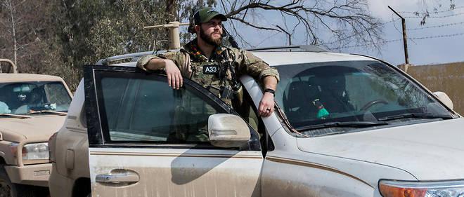 Un soldat américain en Syrie (Illustration).