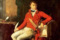 """""""Portrait de Napoleon Ier Bonaparte (1769-1821) en uniforme de premier consul"""" par Francois-Xavier Fabre."""