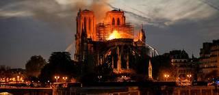 La cathédrale Notre-Dame de Paris a été la proie des flammes pendant plusieurs heures.