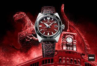 <p>Le fleuron de l'horlogerie nipponne dévoile une nouvelle montre. La Spring Drive rend hommage à Godzilla, le célèbre lézard japonais qui fête ses 65 ans.</p> <p></p> <p></p>