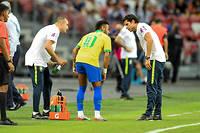 Neymar était sorti sur blessure face au Nigeria.