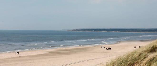 La plage du Touquet, dans le Pas-de-Calais (Illustration).