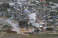 De nombreux Japonais sont toujours sous la menace de nouvelles précipitations au Japon après le passage du typhon Hagibis.