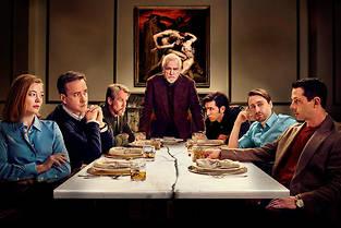 La serie  Succession  est diffusee sur la chaine americaine HBO.
