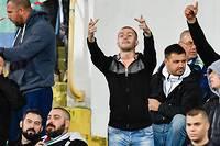 <p>Une frange du public bulgare s'en est prise verbalement aux joueurs noirs de l'équipe d'Angleterre.</p>