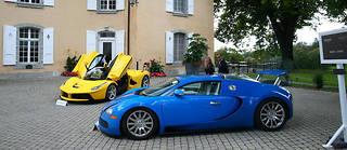 Une Ferrari et une Bugatti appartenant à Teodorin Obiang seront mises aux enchères dimanche en Suisse.
