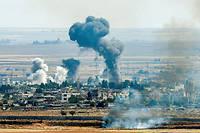 La ville de Ras al-Ain a ete la cible de nombreux bombardements.