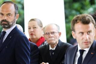<p>Édouard Philippe et Emmanuel Macron, le 8 juillet 2019.</p>