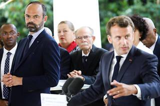Édouard Philippe et Emmanuel Macron, le 8 juillet 2019.