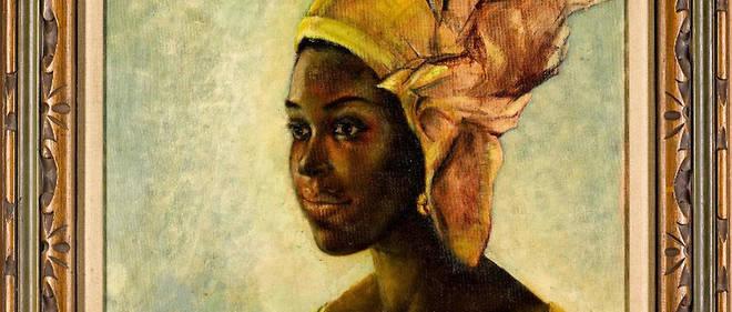 Tout le talent de Ben Enwonwu s'exprime dans cette œuvre intitulée «Christine».