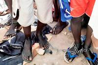 Dans cette école coranique dans la zone de Daura, dans l'État de Katsina, au Nigeria, les étudiants étaient enchaînés, torturés et victimes d'abus sexuels.