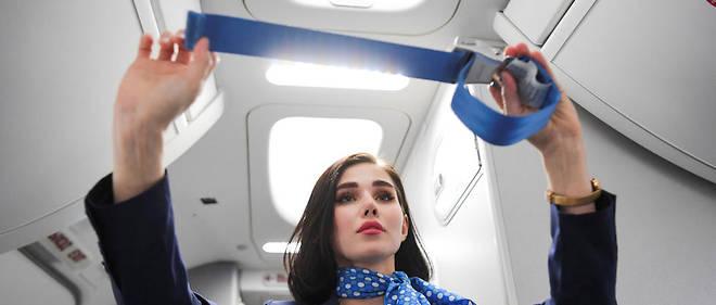 Une hôtesse de l'air. (Photo d'illustration)