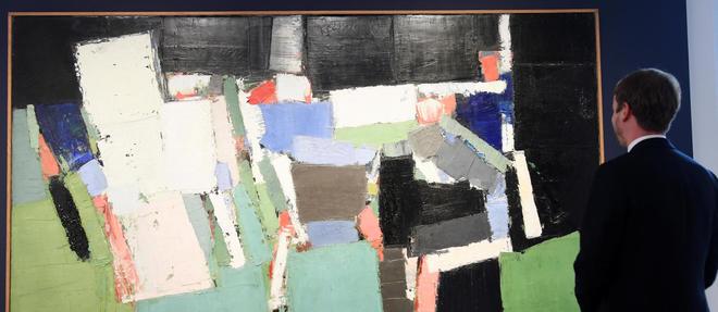 Detenue par les descendants du peintre depuis son deces en 1955 a 41 ans, l'oeuvre n'a ete exposee qu'une dizaine de fois.