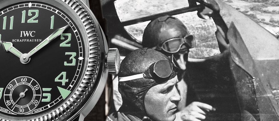 <p>IWC a réalisé de nombreuses montres pour différentes armées de l'air à partir des années 1930.</p> <p></p>