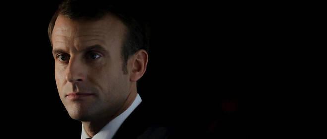 Emmanuel Macron, le 10 octobre 2019.