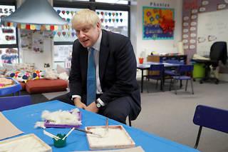 Boris Johnson le 11 octobre 2019.