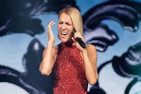 Céline Dion lors de la première date de sa tournée « Courage» à Québec le 18 septembre.
