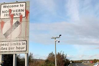 <p>À Dundalk en Irlande, à la frontière avec l'Irlande du Nord.</p>