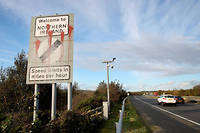A Dundalk en Irlande, a la frontiere avec l'Irlande du Nord.