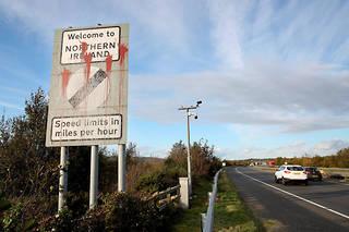 À Dundalk en Irlande, à la frontière avec l'Irlande du Nord.