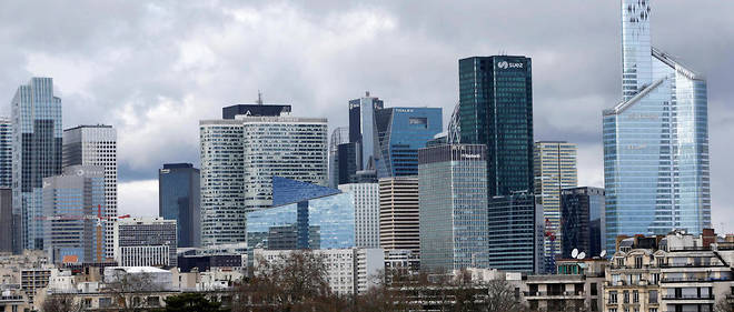 Le quartier d'affaires de la Défense