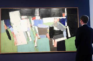 Détenue par les descendants du peintre depuis son décès en 1955 à 41 ans, l'œuvre n'a été exposée qu'une dizaine de fois.