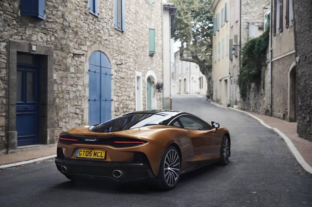 McLaren GT : l\'art de se faire la malle