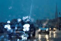 Le temps sera pluvieux sur une large partie de la France, ce 18 octobre. (Illustration.)