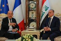 Jean-Yves Le Drian et Mohammed Ali al-Hakim