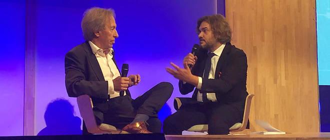 Pascal Bruckner clôt la 3e édition de Futurapolis Santé.