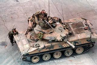 Un char de l'armée américaine (Illustration).