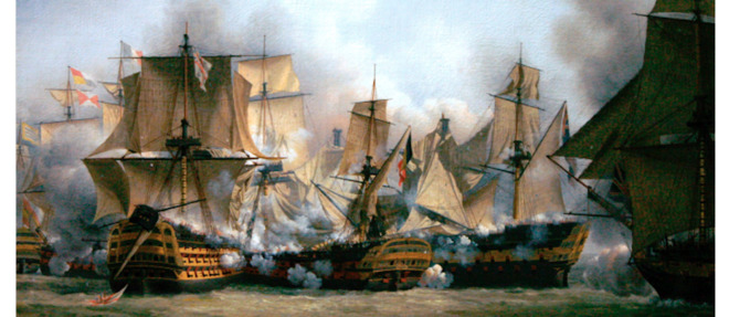La bataille de Gibraltar