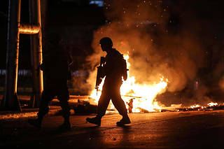 Selon les autorités, 1 462 personnes ont été arrêtées, dont 644 dans la capitale et 848 dans le reste du pays.