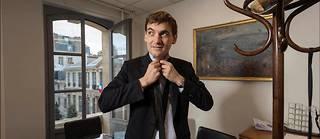 Nicolas Cadène, rapporteur du rapport sur la laïcité, dans son bureau au 101 rue de Grenelle à Paris.