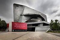 La Philharmonie de Paris construite par Jean Nouvel, et inaugurée en janvier 2015.