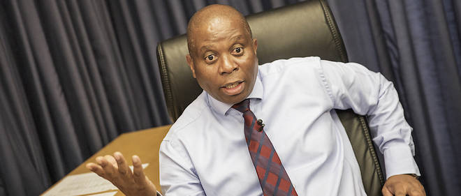 Herman Mashaba a démissionné de son poste de maire de Johannesburg le 21 octobre 2019.